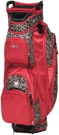 15 Way Leopard Golf Bag