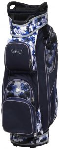 15 Way  Indigo Poppy Golf Bag